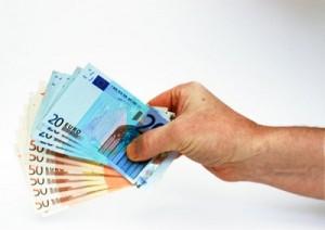 geld in hand